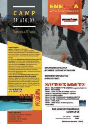 Camp Triathlon 21 luglio 2019