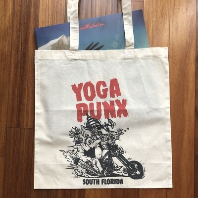 Yoga Punx reusable shopping bag