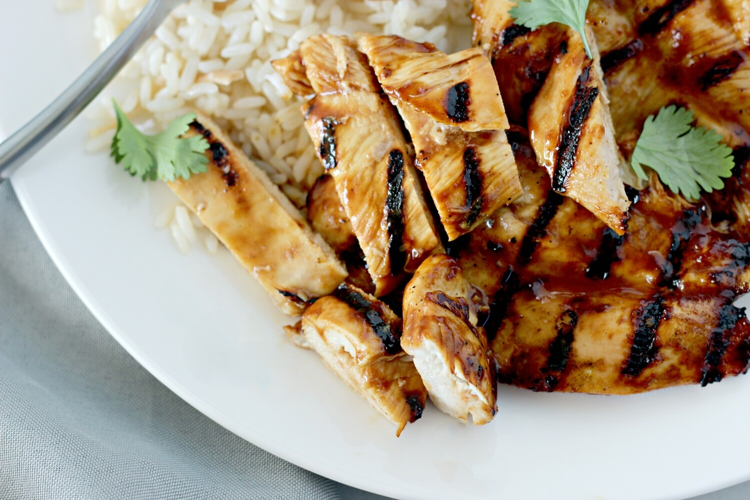 Grilled BBQ Cutlets