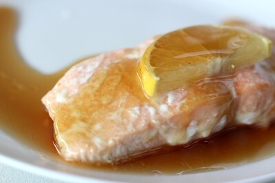 Salmon with Maple Glaze