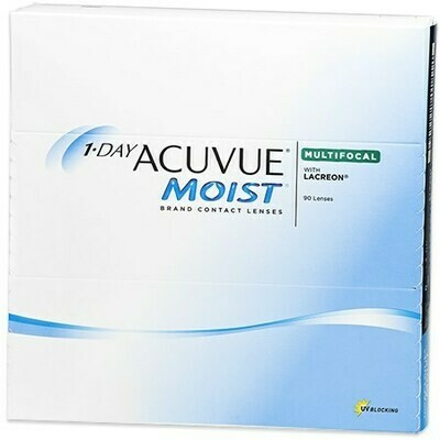 1-DAY ACUVUE MOIST Multifocal 90 PackBy Johnson & Johnson Vision Care, Inc. (90 Lenses/Box)