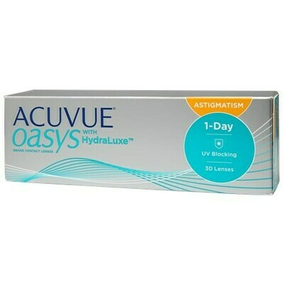 ACUVUE OASYS 1-Day for Astigmatism 30 PackBy Johnson & Johnson Vision Care, Inc. (30 Lenses/Box)