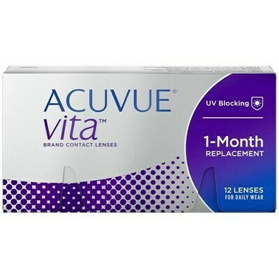 ACUVUE VITA 12-PackBy Johnson & Johnson Vision Care, Inc. (12 Lenses/Box)