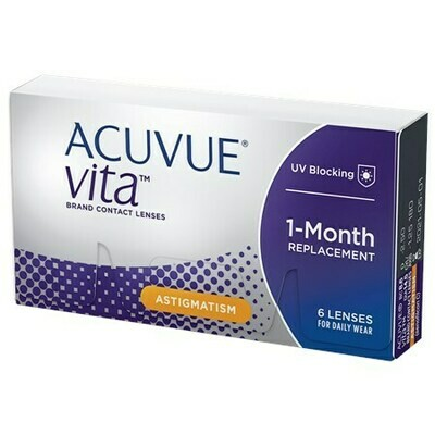 ACUVUE VITA for AstigmatismBy Johnson & Johnson Vision Care, Inc. (6 Lenses/Box)