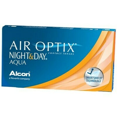 AIR OPTIX NIGHT & DAY AQUABy Alcon (6 Lenses/Box)
