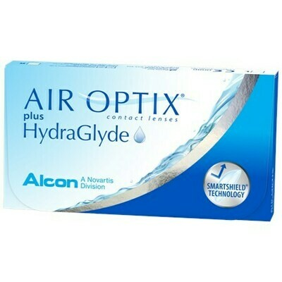 AIR OPTIX plus HydraGlydeBy Alcon (6 Lenses/Box)