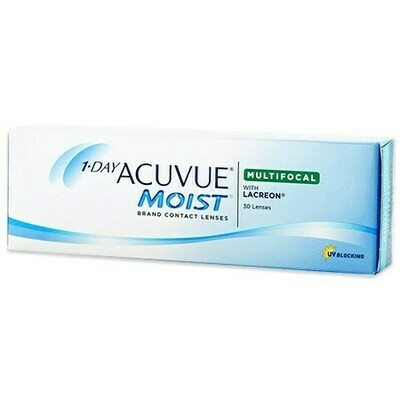 1-DAY ACUVUE MOIST Multifocal 30 PackBy Johnson & Johnson Vision Care, Inc. (30 Lenses/Box)