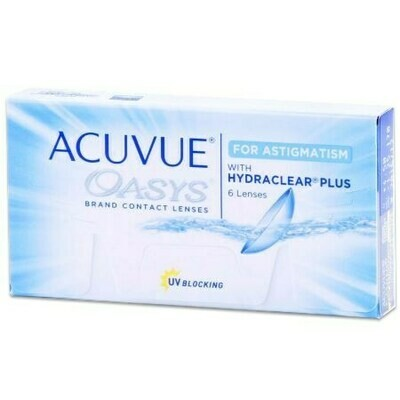 ACUVUE OASYS for ASTIGMATISMBy Johnson & Johnson Vision Care, Inc. (6 Lenses/Box)