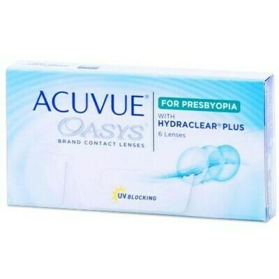 ACUVUE OASYS for PRESBYOPIABy Johnson & Johnson Vision Care, Inc. (6 Lenses/Box)