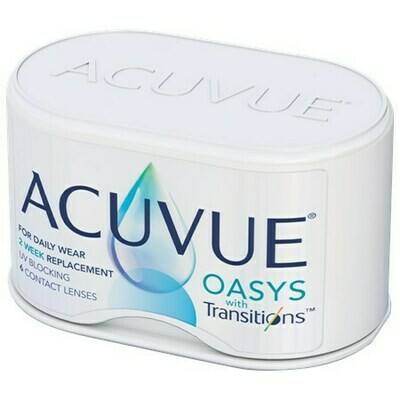 ACUVUE OASYS with TransitionsBy Johnson & Johnson Vision Care, Inc. (6 Lenses/Box)