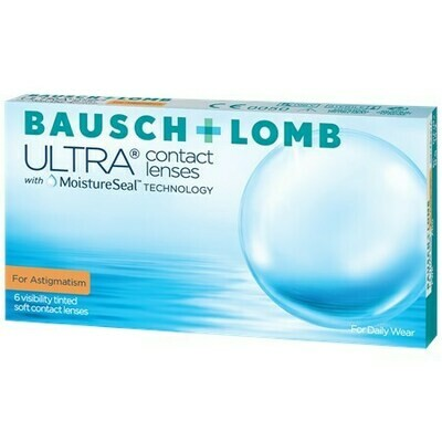 Bausch + Lomb ULTRA for AstigmatismBy Bausch + Lomb (6 Lenses/Box)