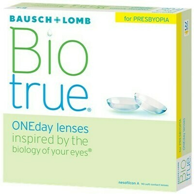 Biotrue ONEday for Presbyopia (90 pack)By Bausch + Lomb (90 Lenses/Box)