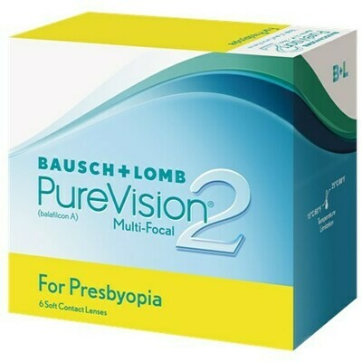 PureVision2 Multi-Focal For Presbyopia (6 Lenses/Box)