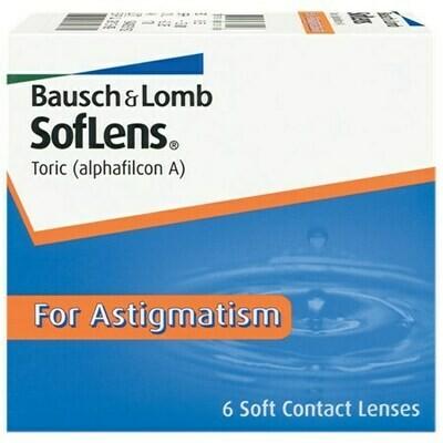 SofLens Toric For Astigmatism (6 Lenses/Box)