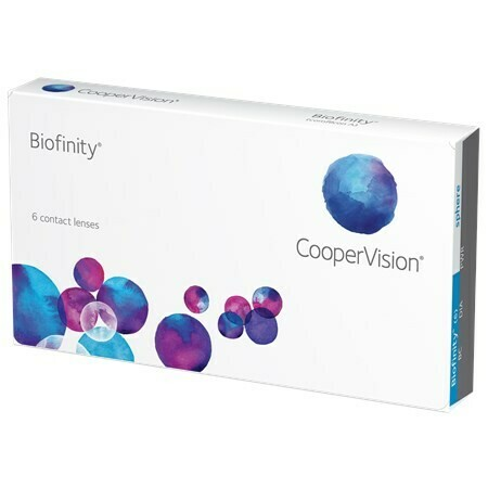 BiofinityBy CooperVision (6 Lenses/Box)