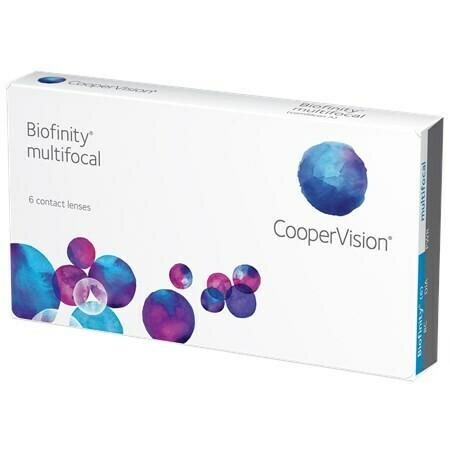 Biofinity MultifocalBy CooperVision (6 Lenses/Box)