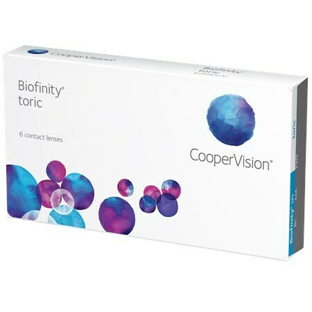 Biofinity ToricBy CooperVision (6 Lenses/Box)