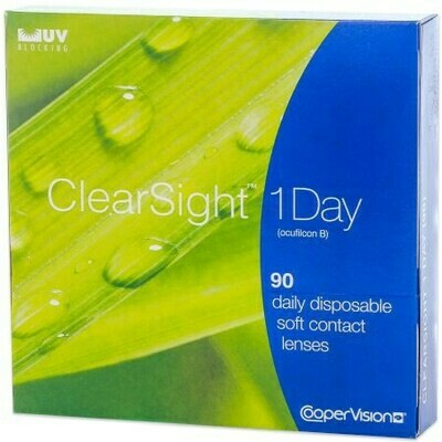 Clearsight 1 day 90 packBy CooperVision (90 Lenses/Box)