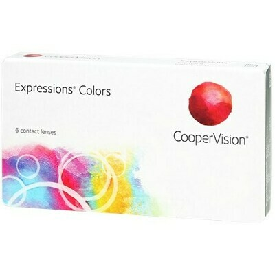 ExpressionsBy CooperVision (6 Lenses/Box)