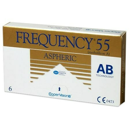 Frequency 55 AsphericBy CooperVision (6 Lenses/Box)