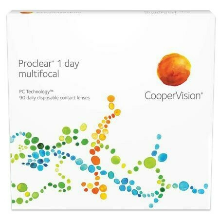 Proclear 1 day multifocal 90 packBy CooperVision (90 Lenses/Box)