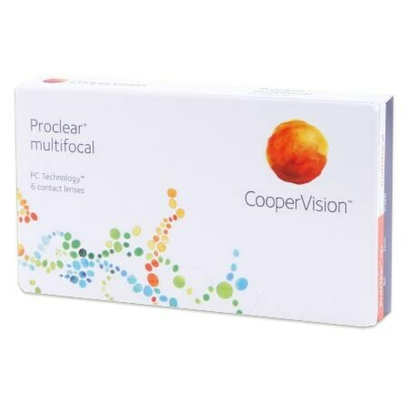 Proclear MultifocalBy CooperVision (6 Lenses/Box)