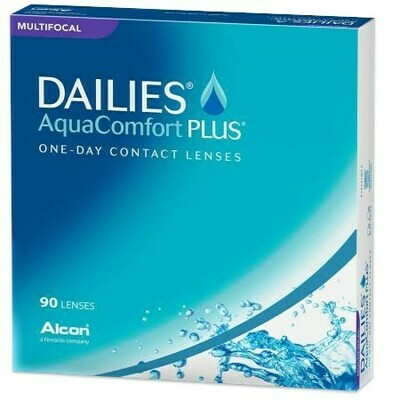 DAILIES AquaComfort Plus Multifocal 90 PackBy Alcon (90 Lenses/Box)