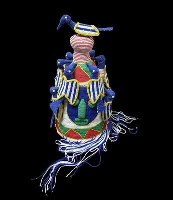 Yoruba Chiefs Beaded Crown
