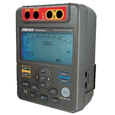 Kusam Meco KM2805-MK1 Digital Insulation Resistance Tester (5KV, 1TΩ)