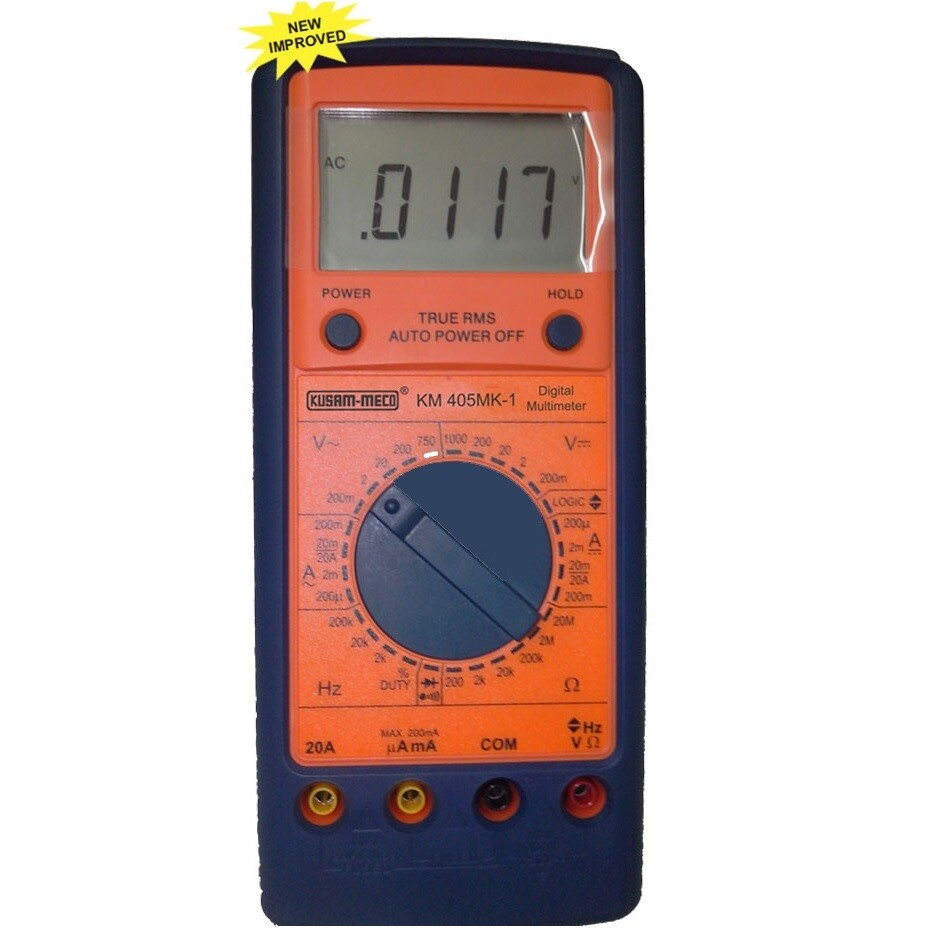 Kusam Meco KM-405-MK1 Digital Trms Multimeter