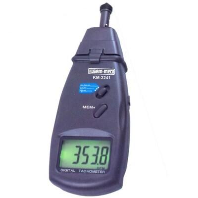 Kusam Meco KM2241 - Contact cum Non Contact Tachometer