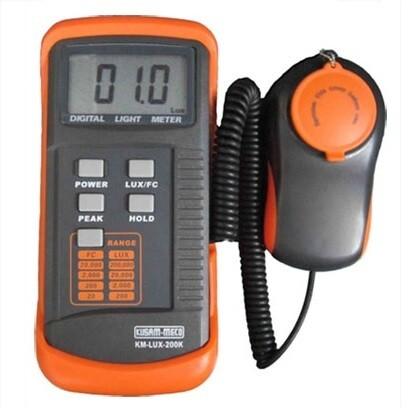 Kusam Meco KM-Lux-200K Digital Lux Meter