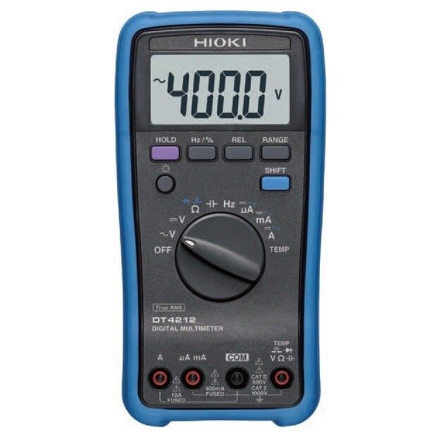 Hioki DT4212 Digital TRMS Multimeter