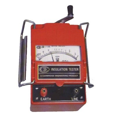 CIE 2500 Volts Analog Insulation Tester, 2.5KV
