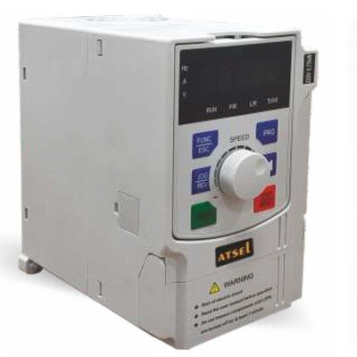 Atsel VFD 3 phase input - 3 phase output 5HP / 3.7KW - Variable Frequency Drive