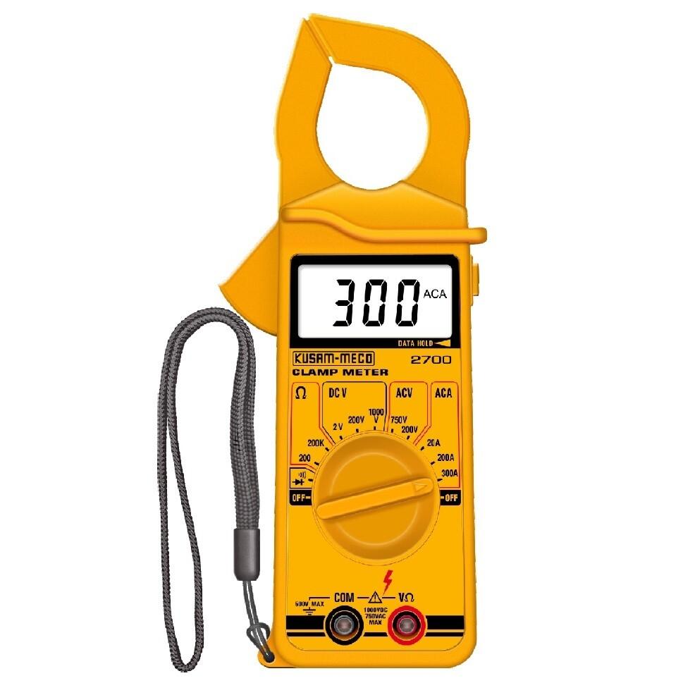 Kusam Meco KM 2700 Digital Clamp Meter 300A