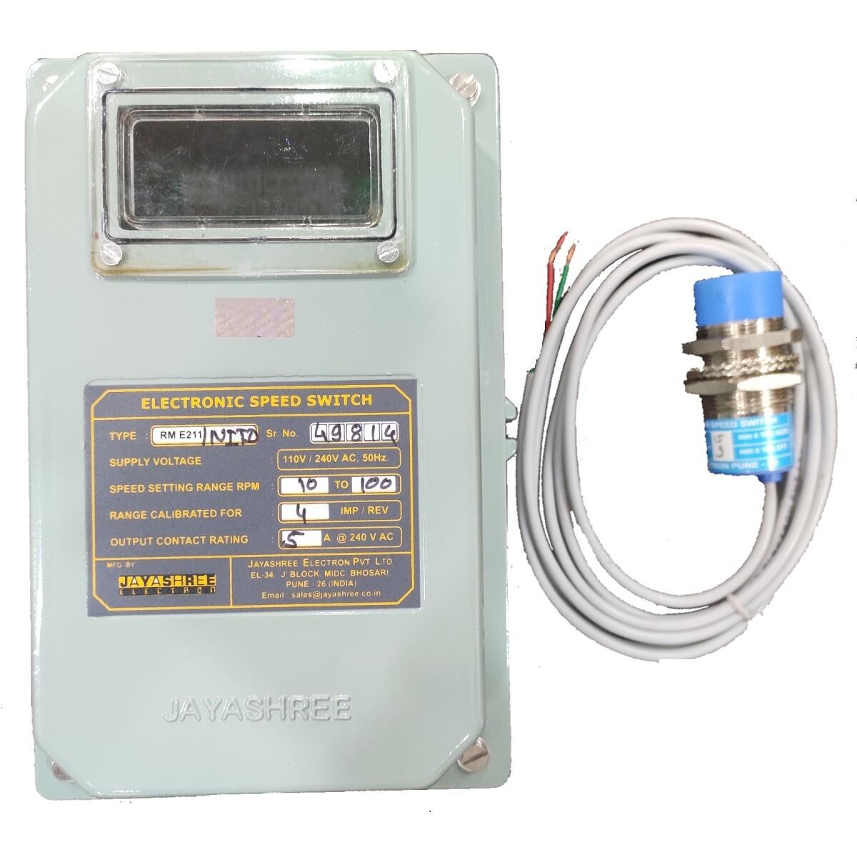 Jayashree RME211 / NITD - Zero Speed Switch
