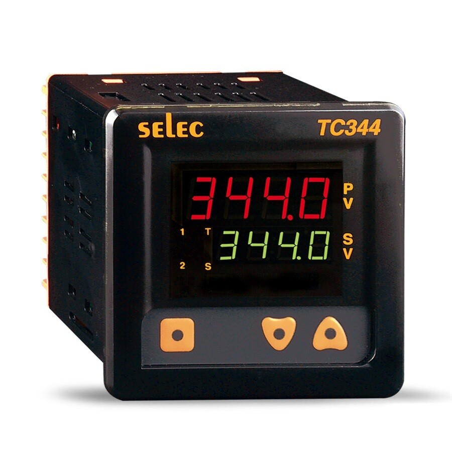 Selec TC-344-AX Digital Temperature Controller Dual Set Point