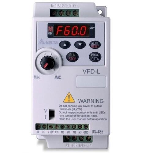 Delta VFD002L21A   Delta VFD - Delta AC Drive 0.25 HP, Input 1ph