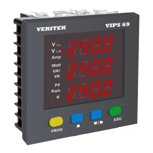 Veritech VIPS-69 Multifunction Meter