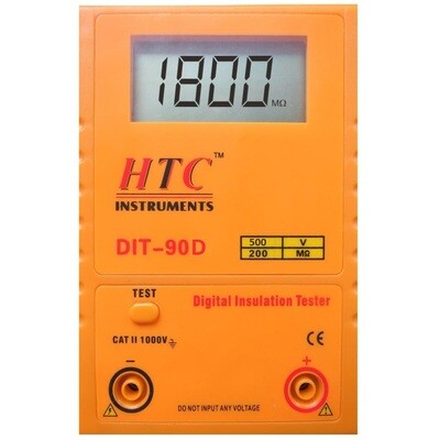 HTC DIT-90D Digital Insulation Tester 500V - 200MOhms