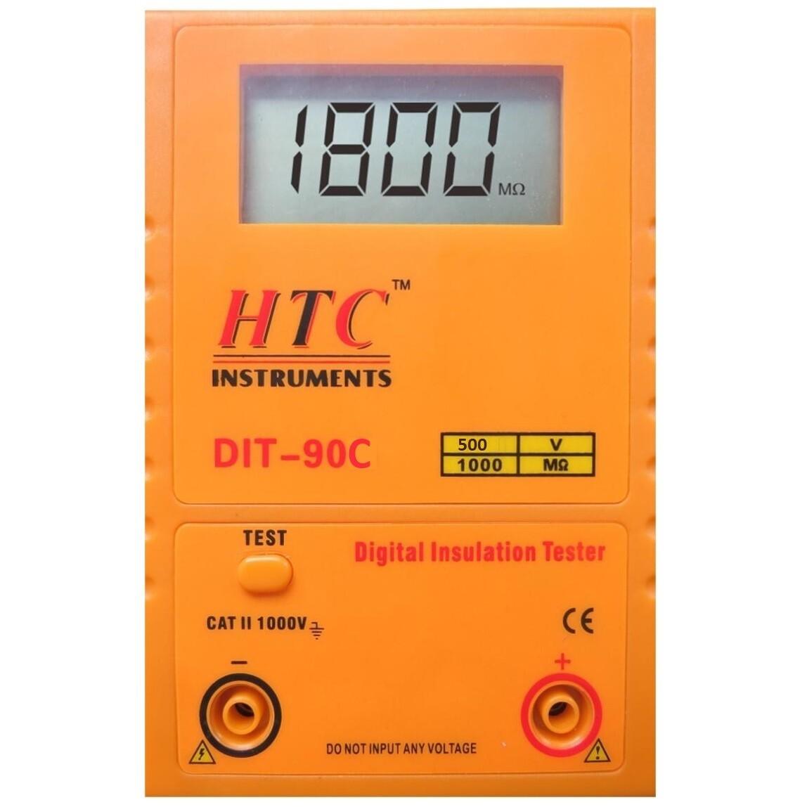 HTC DIT-90C Digital Insulation Tester 500V - 1000MOhms