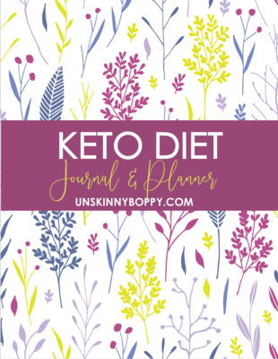 Keto Diet Journal and Recipe Planner