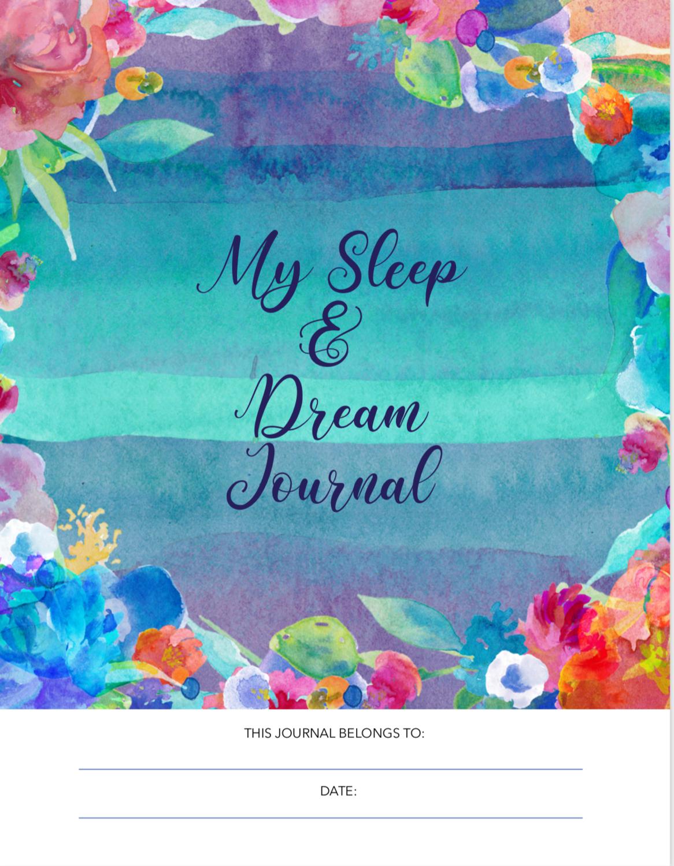 Sleep Tracker & Dream Journal Free PDF Printable