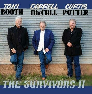 "Tony Booth Darrell McCall Curtis Potter ""The Survivors II"" CD 00004"