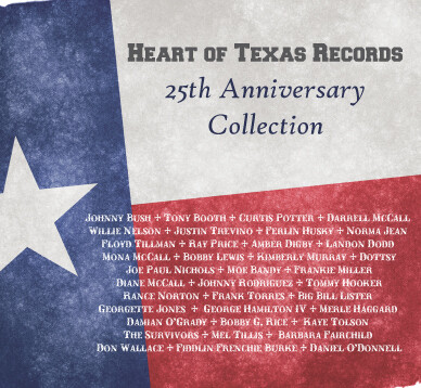 "Heart of Texas Records ""25th Anniversary Collection"" CD 00131"