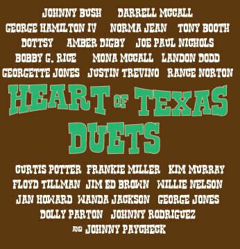Heart of Texas Duets CD 00133