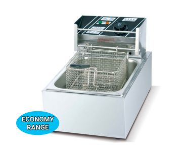 Counter Top Electric 1-Tank Fryer 3 ltr Economic