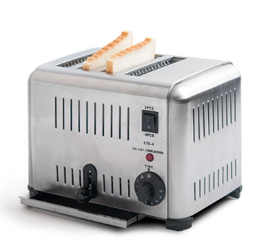 4 slice bread Toaster Electric