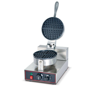 Waffle Baker(single head) - Round Shape